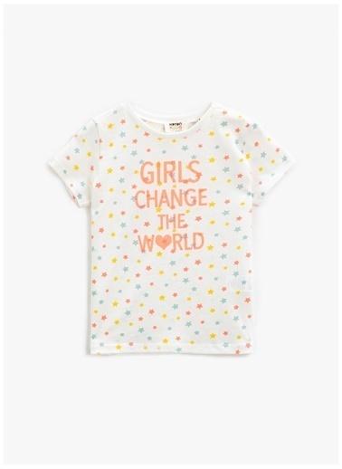 Koton Koton T-Shirt Ekru